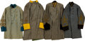 Militaria:Uniforms, Lot of Four Confederate General Officer Costume Coats.... (Total: 4 Items)