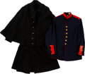 Militaria:Uniforms, Lot of Two Vintage Military Jackets.... (Total: 2 Items)