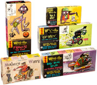 """Weird-Ohs and Ed """"Big Daddy"""" Roth-Related Model Kit Boxes Group of 5 (Hawk/Revell, 1960s).... (Total: 5 Items)"""