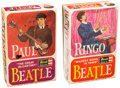 Memorabilia:Beatles, Paul McCartney and Ringo Starr The Beatles Model Kits Group of 2(Revell, 1964).... (Total: 2 Items)