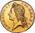 Great Britain, Great Britain: George II gold 5 Guineas 1729 MS64 PCGS,...