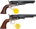 Handguns:Single Action Revolver, Lot of Two Boxed Colt 1862 Reproduction Single Action Revolvers....(Total: 2 Items)