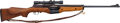 Long Guns:Semiautomatic, U.S. Johnson Automatics Model of 1941 Semi-Automatic Rifle withTelescopic Sight....