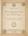 Books, Elder, Tom. Auction Catalogues. Sixteen catalogues, 1910-1937.Includes a damaged but plated copy of the 1908 James Wilson s...