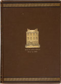 Books, [Banking and Finances]. Group of Works on Banking, the Treasury,and Finances. Includes: Gras's The Massachusetts First Na...