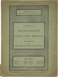 Books, [Ancient Coins]. Ancient Coin Periodicals and Sale Catalogues.Includes: a couple hundred issues of Münzen und Medaillen's ...