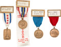 Books, American Numismatic Association. Convention Medals, Awards, and Memorabilia. Includes: Convention medals with ribbon...