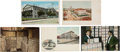 Books, [Postcards]. Numismatic Postcards. Approximately 30 cards, nearlyall in color, each depicting a view of a U.S. Mint buildin...