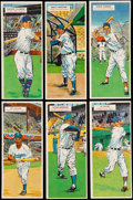 Baseball Cards:Lots, 1955 Topps Double Headers Collection (18). ...