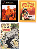 Books:Hardcover, Comic Artist-Related Hard Cover Books Group of 3 (Various Publishers).... (Total: 3 Items)