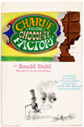"""Books:First Editions, Roald Dahl Charlie and the Chocolate Factory Hardcover Revised """"Oompa Loompa"""" First Edition (Knopf, 1973)...."""