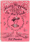 Books:First Editions, P. L. Travers Mary Poppins in the Park Hardcover First Edition (Harcourt, Brace and Co., 1963)....