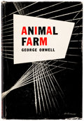 Books:First Editions, George Orwell Animal Farm American Hardcover First Edition (Harcourt, Brace and Co., 1946)....