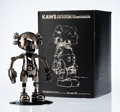 Prints & Multiples, KAWS X Hajime Sorayama. No Future Companion (Black Chrome), 2008. Metallized plastic. 12-1/2 x 7-3/4 x 7-3/4 inches (31....