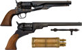 Handguns:Single Action Revolver, Lot of Two Replica Arms Reproduction Single Action Revolvers.... (Total: 2 Items)