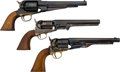 Handguns:Double Action Revolver, Lot of Three Boxed Navy Arms Reproduction Single Action Revolvers.... (Total: 3 Items)