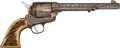 Handguns:Single Action Revolver, Cole Agee Engraved Colt Single Action Army Revolver....