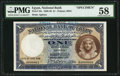 World Currency, Egypt National Bank of Egypt 1 Pound 1930-48 Pick 22s PMG Choice About Unc 58.. ...