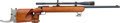 Long Guns:Bolt Action, German J.G. Anschutz Model 54 Super Match Bolt Action Rifle withTelescopic Sight....
