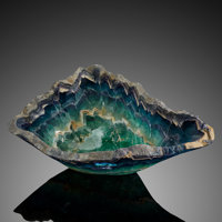 Banded Fluorite Bowl Mexico