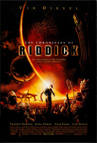 "The Chronicles of Riddick & Other Lot (Universal, 2004). One Sheets (2) (27"" X 40"") DS. Science Fictio..."