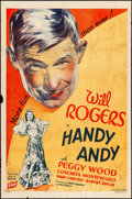"Movie Posters:Comedy, Handy Andy (Fox, 1934). One Sheet (27"" X 41""). Comedy.. ..."
