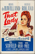 """Movie Posters:Adventure, That Lady (20th Century Fox, 1955). One Sheet (27"""" X 41""""). Adventure.. ..."""