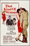 "Movie Posters:Romance, That Kind of Woman (Paramount, 1959). One Sheet (27"" X 41"").Romance.. ..."