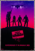 "Movie Posters:Science Fiction, Guardians of the Galaxy (Walt Disney Pictures, 2014). IMAX Poster(13"" X 19"") Marko Manev Artwork. Science Fiction.. ..."
