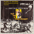 """Movie Posters:Crime, Tip on a Dead Jockey (MGM, 1957). Six Sheet (72.5"""" X 78.5""""). Crime.. ..."""