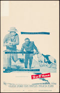 "Movie Posters:Western, 3:10 to Yuma (Columbia, 1957). Window Card (14"" X 22""). Western....."