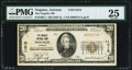 National Bank Notes:Arizona, Nogales, AZ - $20 1929 Ty. 1 The Nogales NB Ch. # 11012 PMG Very Fine 25.. ...
