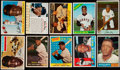 Baseball Cards:Lots, 1954 Through 1967 Bowman and Topps Willie Mays Collection (30). ...
