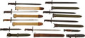 Edged Weapons:Bayonets, Lot of Nine U.S. Bayonets, Circa 1906-1945.... (Total: 9 Items)