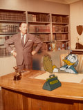 Animation Art:Presentation Cel, Ludwig Von Drake and Walt Disney Publicity Cel/Photo (Walt Disney,c. 1960s)....