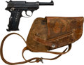 Handguns:Semiautomatic Pistol, German cyq Model P.38 Semi-Automatic Pistol....