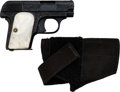 Handguns:Semiautomatic Pistol, Engraved Colt Vest Pocket Model 1908 Semi-Automatic Pistol....
