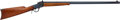 Long Guns:Lever Action, Winchester High-Wall Model 1885 Single Shot Rifle....