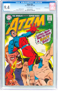Silver Age (1956-1969):Superhero, The Atom #34 Bowling Green Pedigree (DC, 1968) CGC NM 9.4 Off-whitepages....