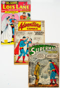 Silver Age (1956-1969):Superhero, Superman-Related Box Lot (DC, 1960s-70s) Condition: AverageGD/VG....