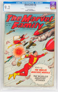 Golden Age (1938-1955):Superhero, The Marvel Family #28 Crowley Copy Pedigree (Fawcett Publications,1948) CGC NM- 9.2 Cream to off-white pages....