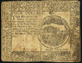 Continental Currency February 26, 1777 $4 Fine