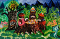 """Animation Art:Poster, Mary Blair """"Poker Bears"""" Limited Edition Giclee Print Publisher'sProof # 3/16 (2003).... (Total: 2 )"""
