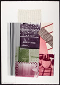 Prints & Multiples, Robert Rauschenberg (1925-2008). Pre-Morocco, 1983. Lithograph in colors on Rives BFK paper. 42 x 29-3/4 inches (106.7 x...