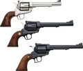 Handguns:Single Action Revolver, Lot of Three Sturm Ruger Blackhawk Single Action Revolvers.... (Total: 3 Items)