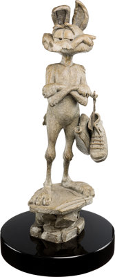 Wile E. Coyote Limited Edition Cast Bronze Sculpture by Lawrence Noble #17/100 (Warner Brothers, 2006)
