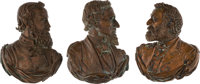 """Jefferson Davis, """"Stonewall"""" Jackson and Robert E. Lee: Pictorial Wall Plaques"""
