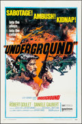"""Movie Posters:War, Underground & Other Lot (United Artists, 1970). One Sheets (2)(27"""" X 41"""") & Lobby Card Sets of 8 (2) (11"""" X 14""""). Wa..."""
