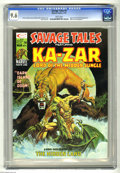 Magazines:Superhero, Savage Tales #9 (Marvel, 1975) CGC NM+ 9.6. Mike Kaluta cover. Mike Zeck frontispiece. Shanna the She-Devil appearance. Over...