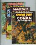Bronze Age (1970-1979):Miscellaneous, Savage Tales Group (Marvel, 1973-86) Condition: Average FN/VF.Seven issues in this group include #2, 3 (2 copies), 5 (2 cop...(10 items)